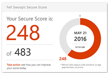 Office 365 Secure Score Perth