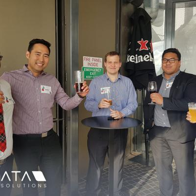 2018 Novata Solutions and OutSystems Client Christmas Party